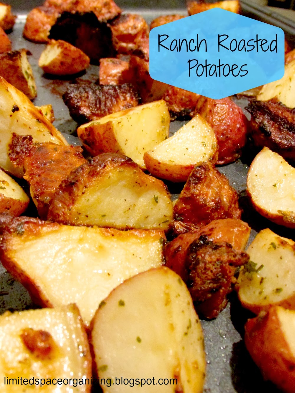 Easy Ranch Roasted Potatoes