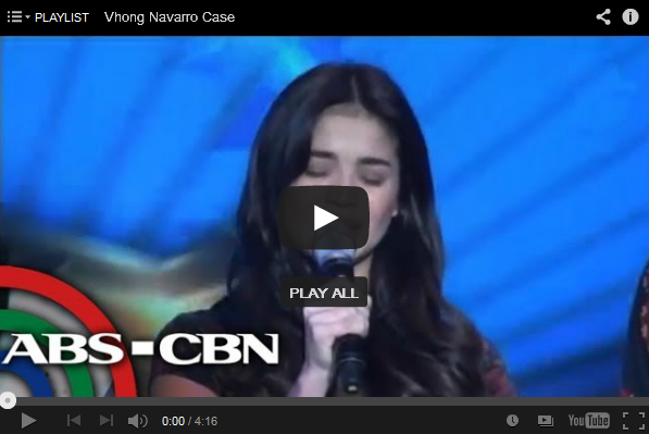 Anne Curtis cries over Vhong Navarro's condition the Video