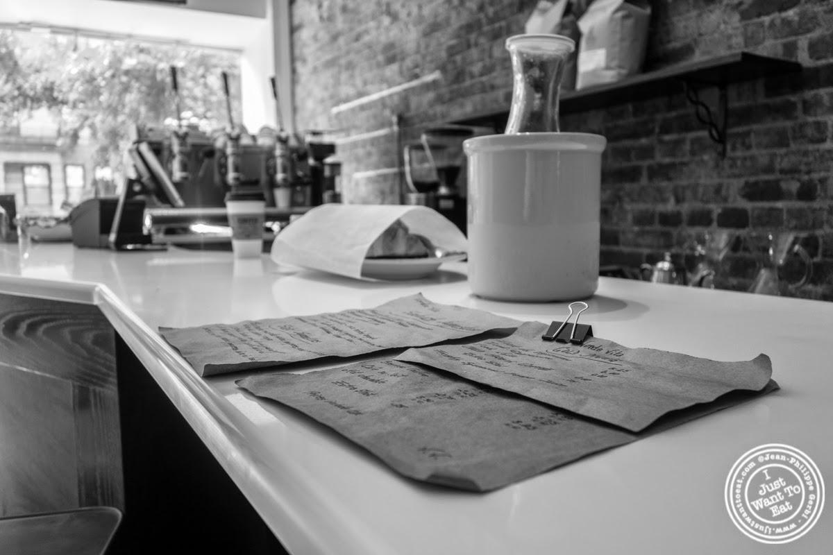 image of menu at Verde Vita Toscana in Hoboken, NJ