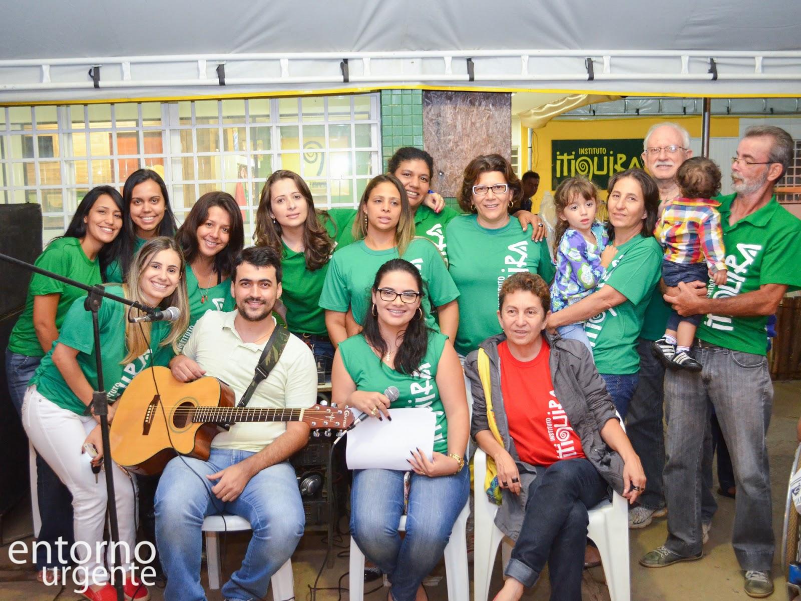 Instituto Itiquira e voluntários