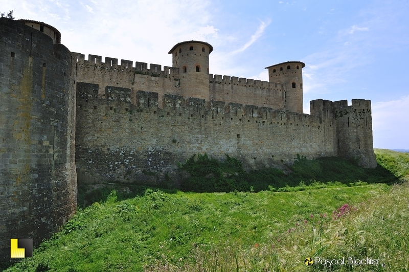 Fortifications de Carcassonne photo pascal blachier