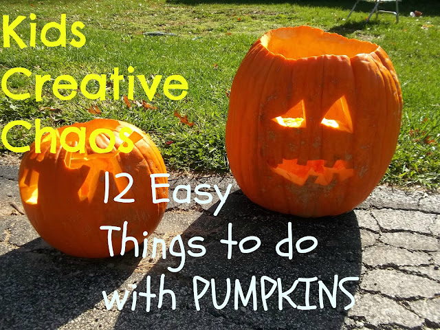 12 diy things to do with pumpkins for Halloween and gourds