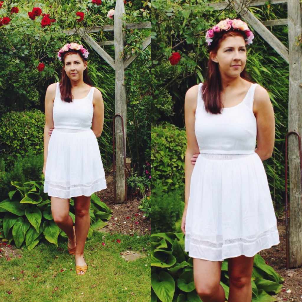 primark, wiw, asseenonme, flowercrown, whitedress, lookoftheday, lotd, outfitoftheday, ootd, asseenonme, fashionpost, fashion, fashionbloggers, fashionblogger, fbloggers, fblogger