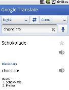 Google Translate para Android traductor de 50 idiomas