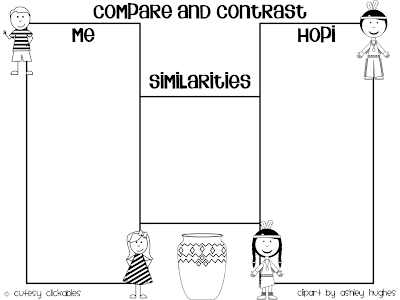 Also, we have several graphic organizers that we use to go along with ...
