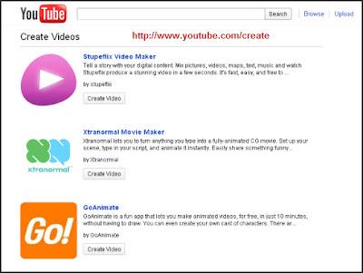 Alternative Video Creation via YouTube
