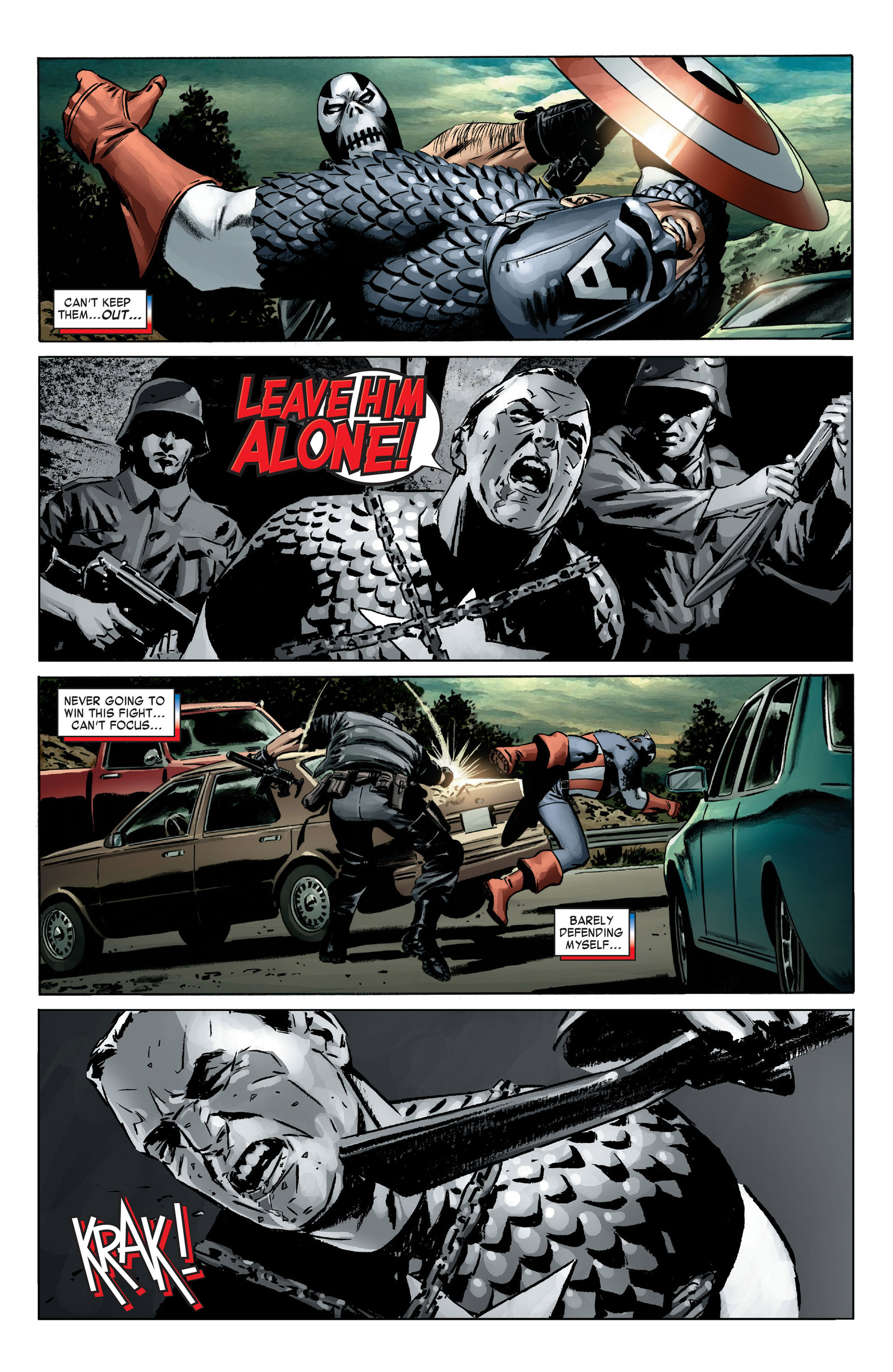 Captain America (2005) Issue #4 #4 - English 18
