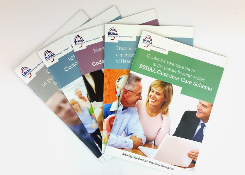 New BSHAA booklet design