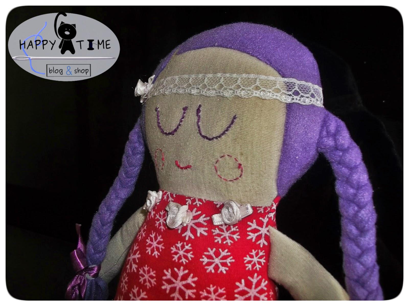 lalka szmaciana dla małej dziewczynki