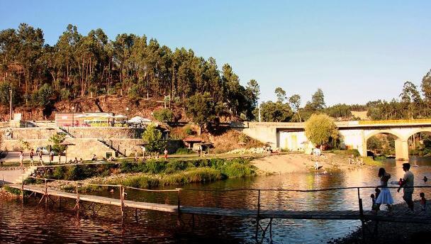 Ponte de Madeira que já não existe
