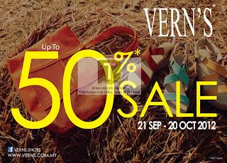 Vern's Footwear Sale 2012