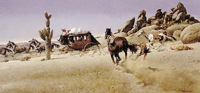 Pinturas Vaqueras del Western Americano