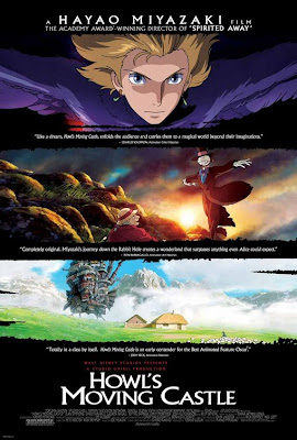 Watch Howl's Moving Castle 2004 BRRip Hollywood Movie Online | Howl's Moving Castle 2004 Hollywood Movie Poster