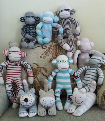 Membuat Boneka (Sock Dolls)