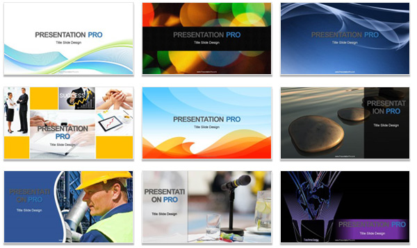 Powerpoint Template Professional