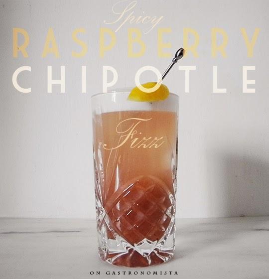 Gastronomista: Spicy Raspberry Chipotle Gin Fizz