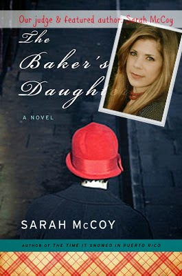judging and winner of cook the books: The Baker's Daughter by Sarah McCoy