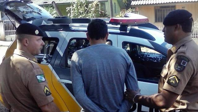 Nova Cantu: Homem invade casa da ex-esposa e é preso