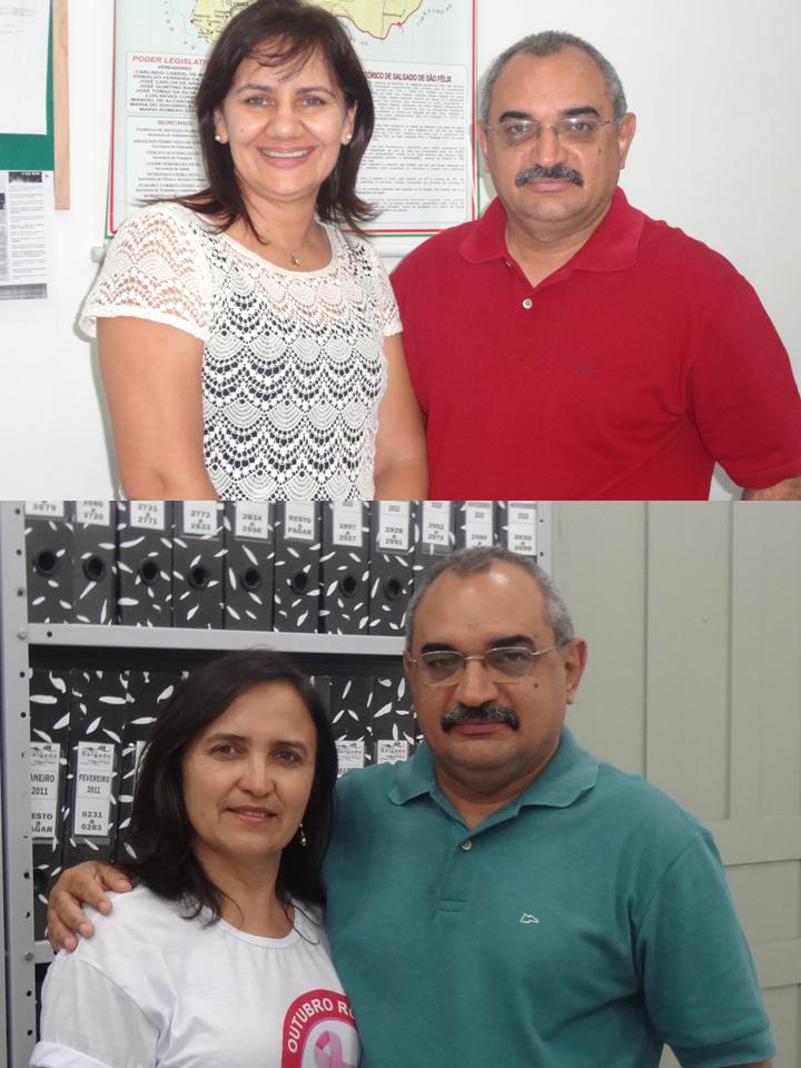 Graça Felisberto e Roseanne Sales: Colegas de Trabalho!