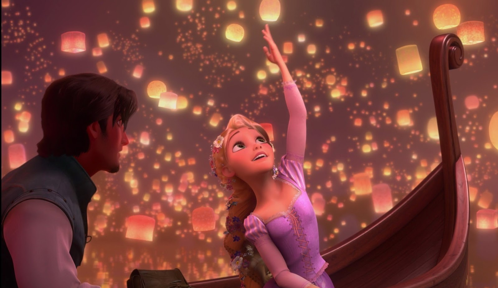 ... tangled-lanterns-wallpaper ...