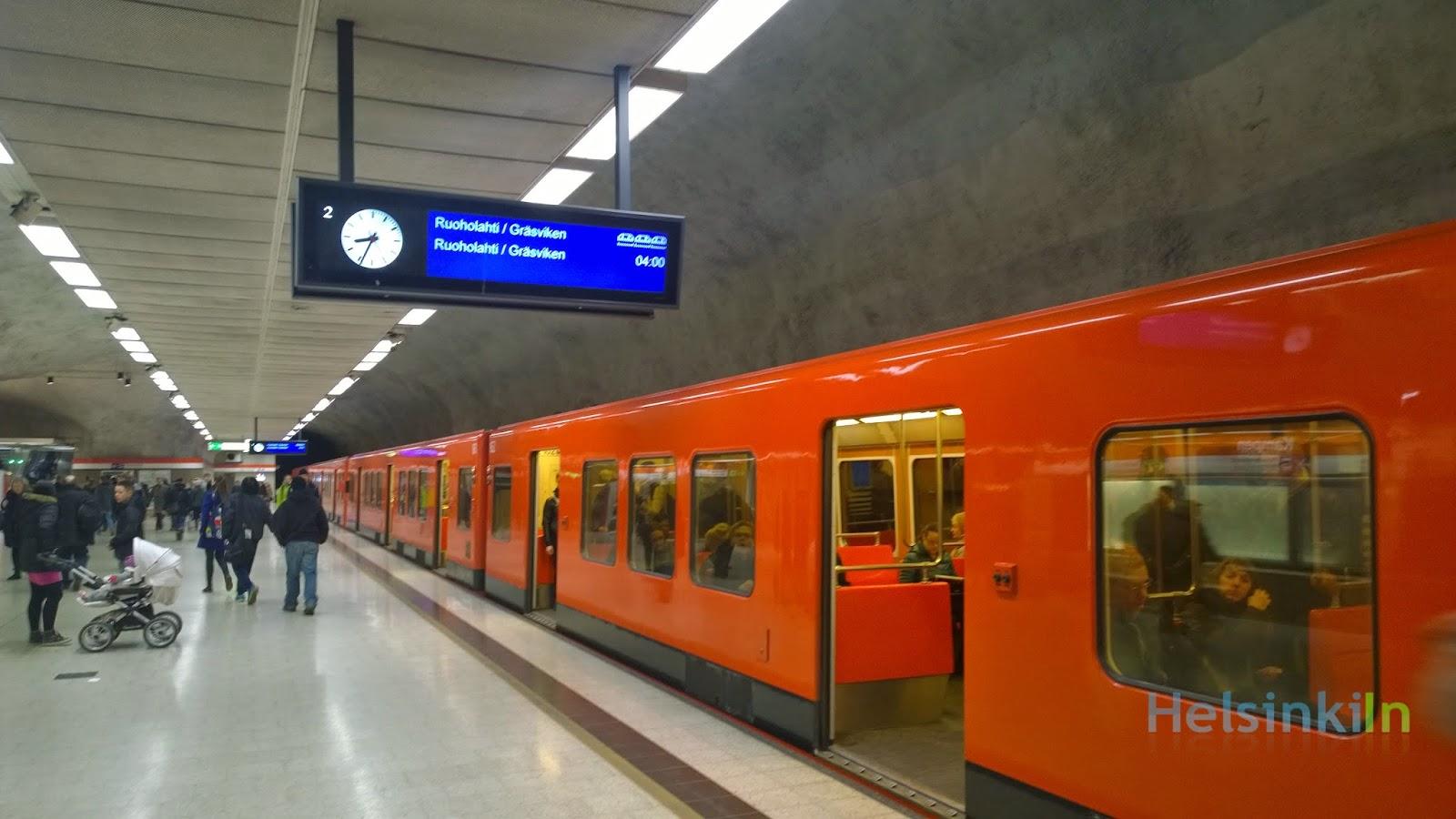 metro in Kamppi