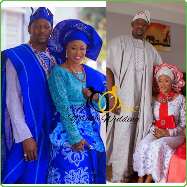 Yoruba wedding dresses dezango fashion zone for Nigerian traditional wedding dresses pictures