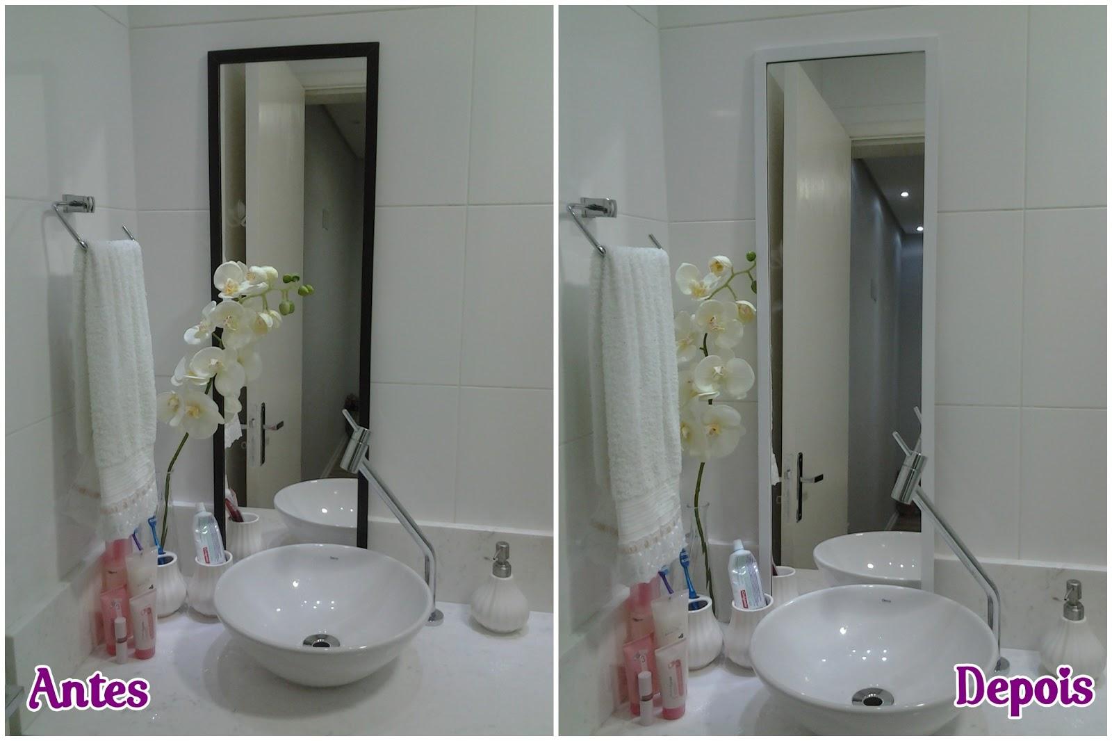 AMBIENTE IDEAL: Antes e depois: rack e espelho por R$9 90 #7F1C7C 1600 1066
