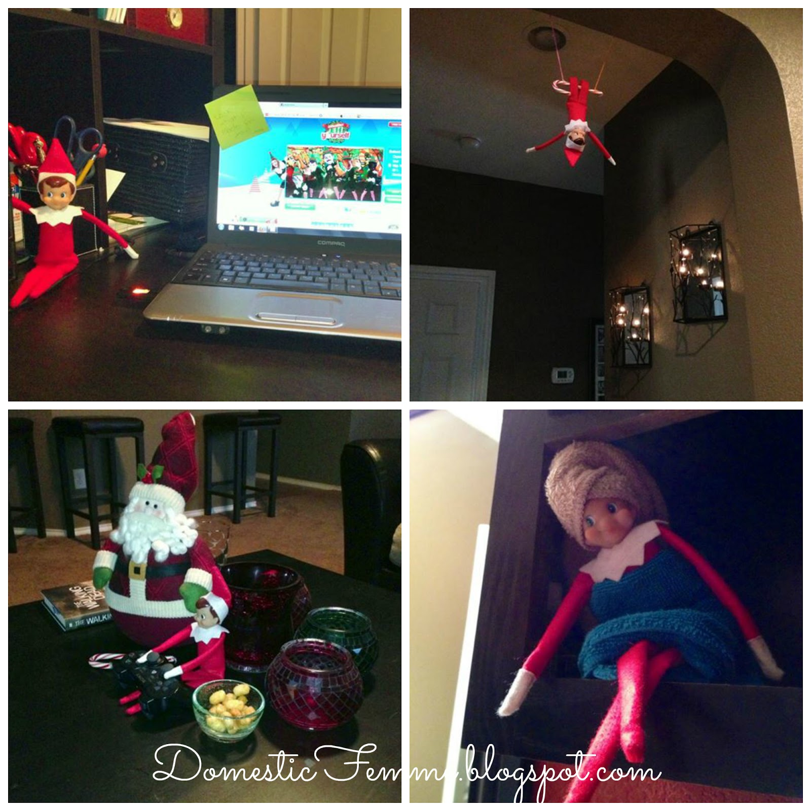Over 50 Elf On The Shelf Ideas PLUS a Calendar Download & Printables ...