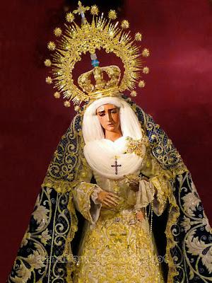 María Santísima de la Hiniesta - Sevilla - Antonio Castillo Lastrucci 1937 - Iglesia de San Julián