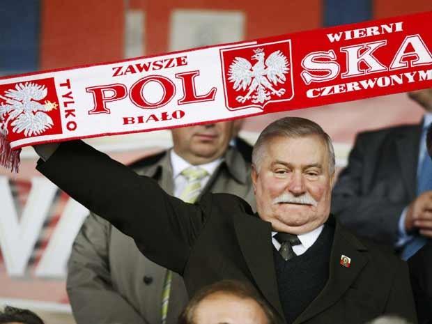 O ex-presidente polonês e Prêmio Nobel da Paz Lech Walesa (Foto: Reuters)