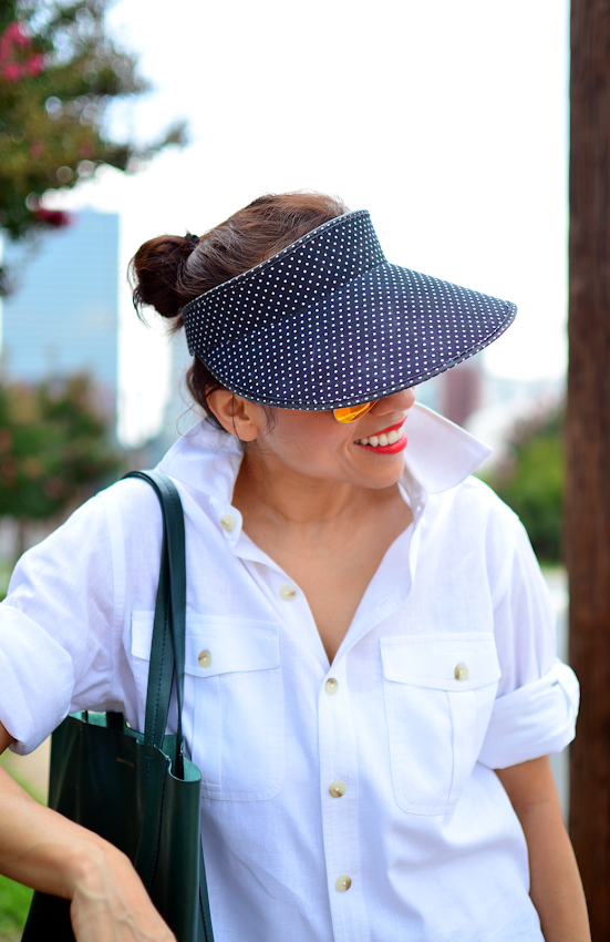 How to wear a visor hat