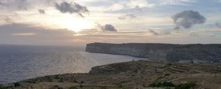 Sanap Cliffs, isla de Gozo.