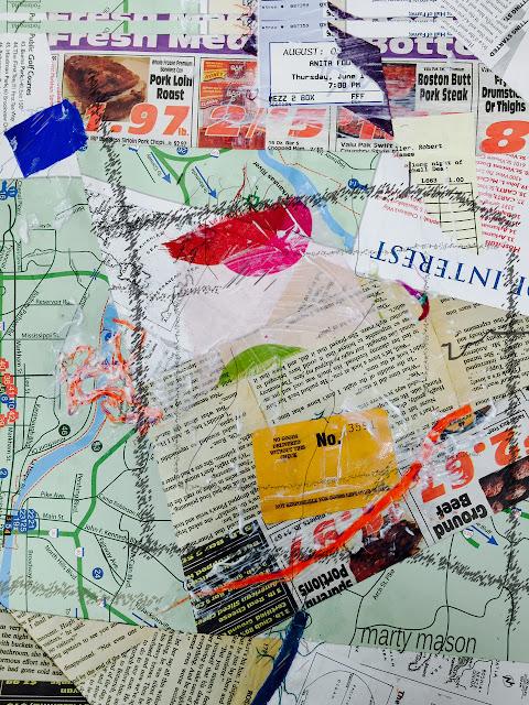 paper improv quilt block