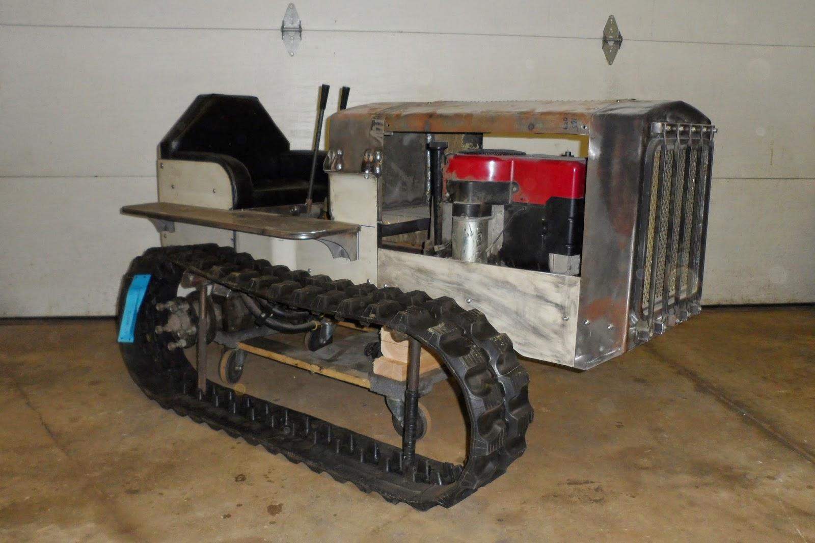 Как сделать трактор своими руками 15