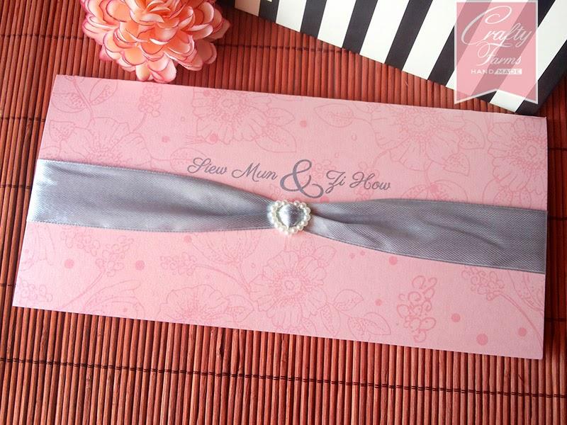 Budget, Simple and Elegant Wedding Card Malaysia, Kad Kahwin Malaysia