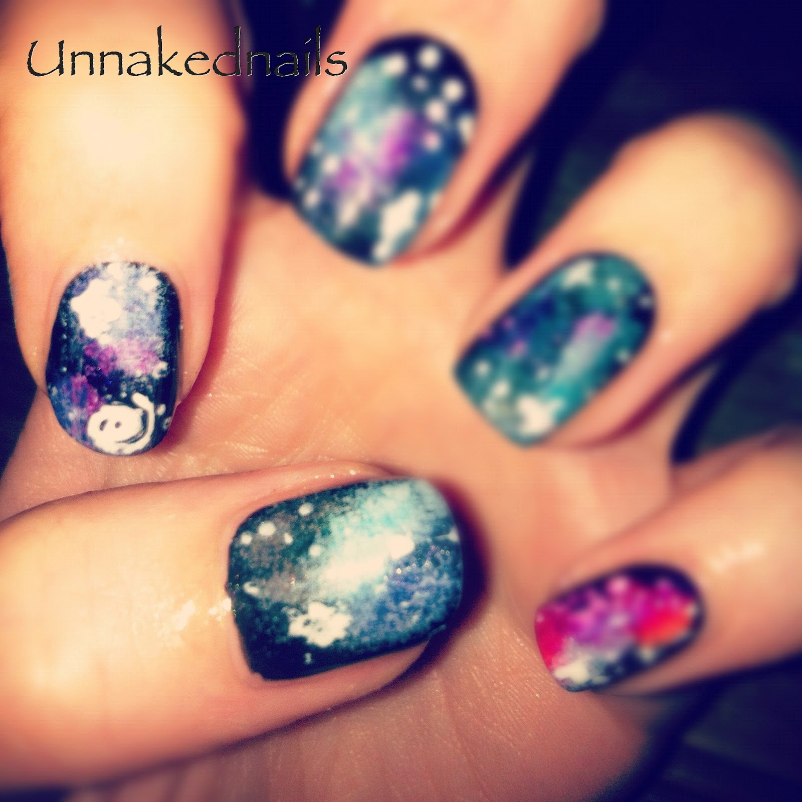 Nail Art Galaxy | Nail Art Designs