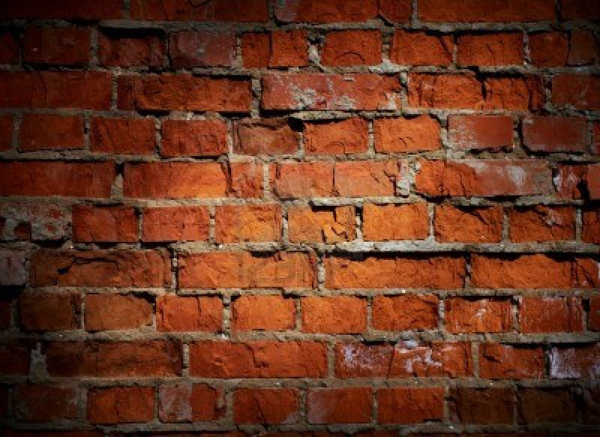 Live, Love, Laugh: the brick wall