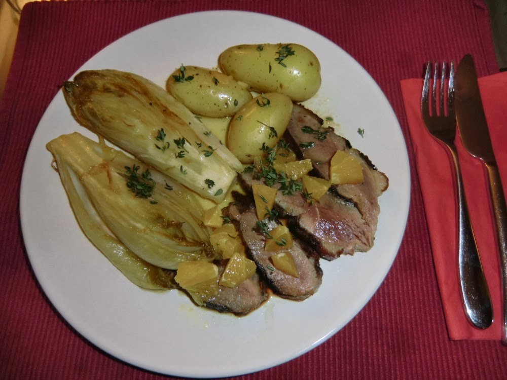 my best endive recipe (with duck breast)