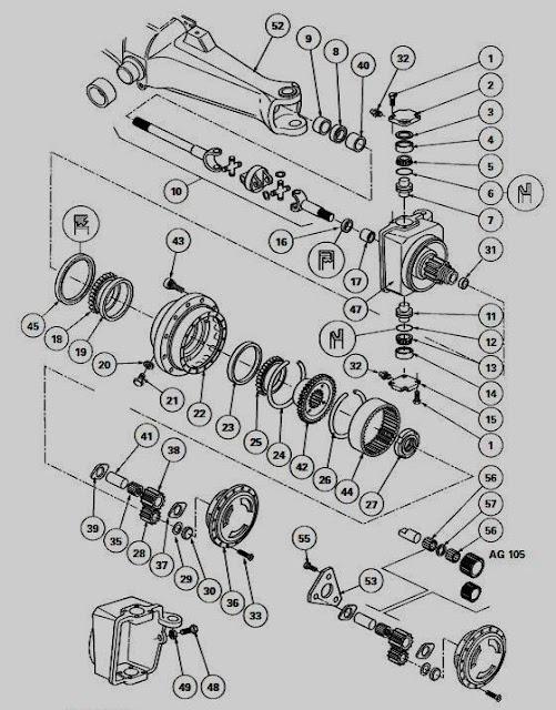 Dana Rear Axle Tractor : Tractor parts and attachments dana front axle