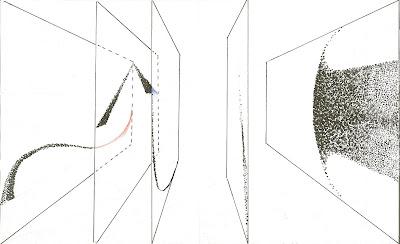 abstract comics l'oiseau est tombé au sol