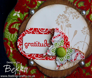 Beautiful Gratitude Journal by Stampin' Up! Demonstrator Bekka Prideaux - check out www.feeling-crafty.co.uk