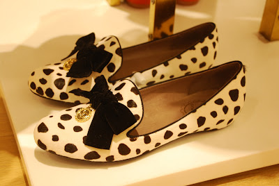 Dalmation pattern shoes from Lynn Around