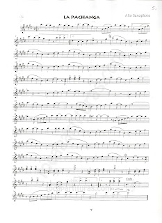 Partitura de la Pachanga Music Score