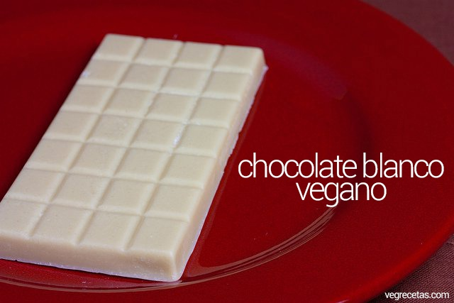 Chocolate Blanco Vegan