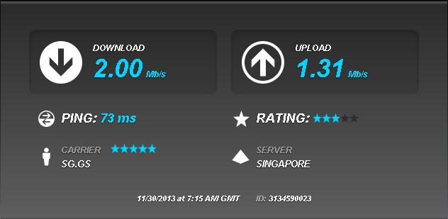Free SSH Singapore 12 Januari 2014