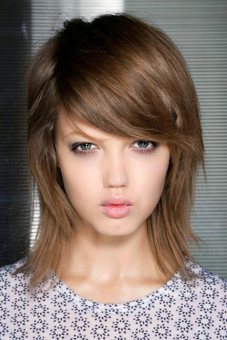 Saggy ou Shag - Corte de cabelo médio - tendência cabelo 2015