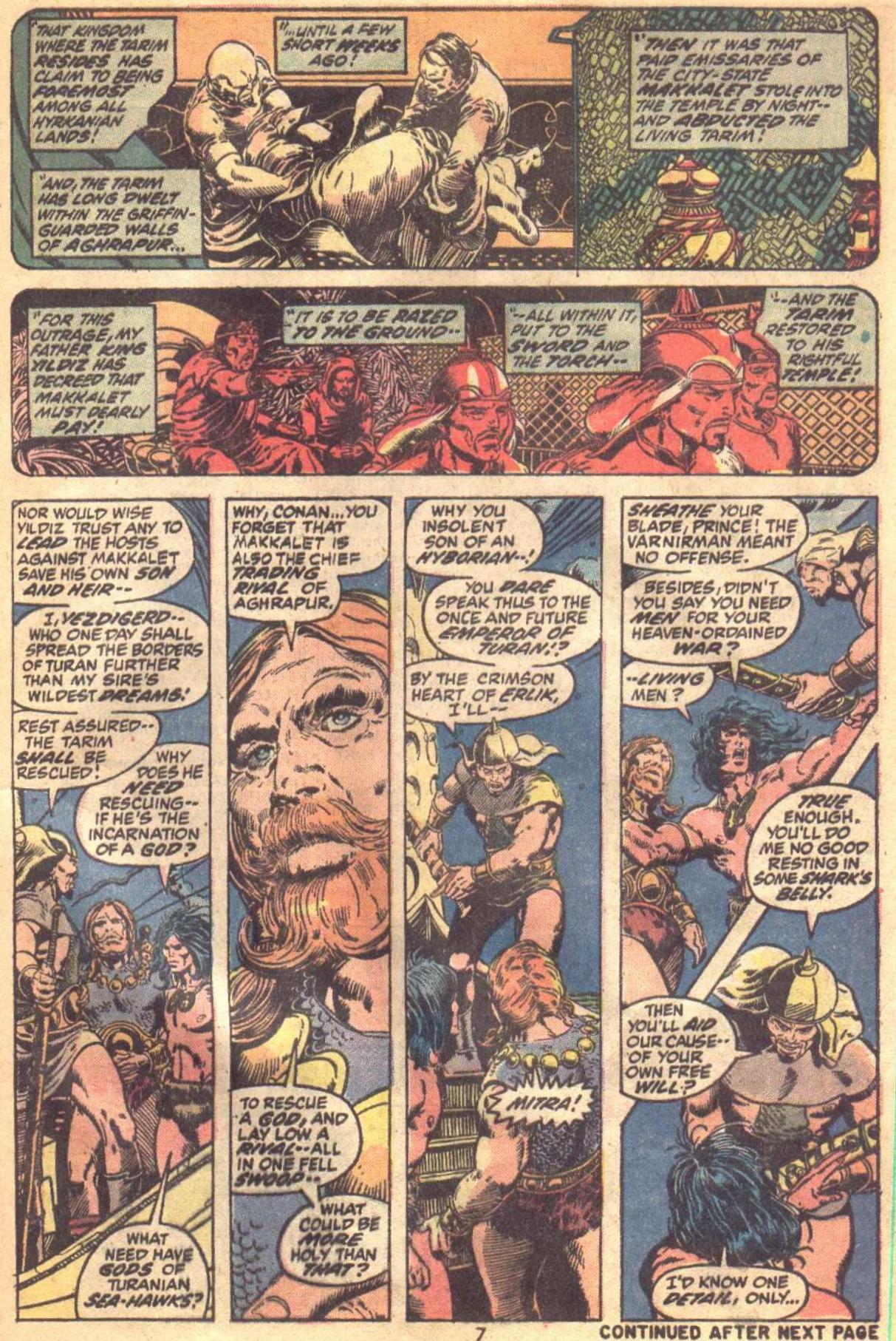 Conan the Barbarian (1970) Issue #19 #31 - English 7