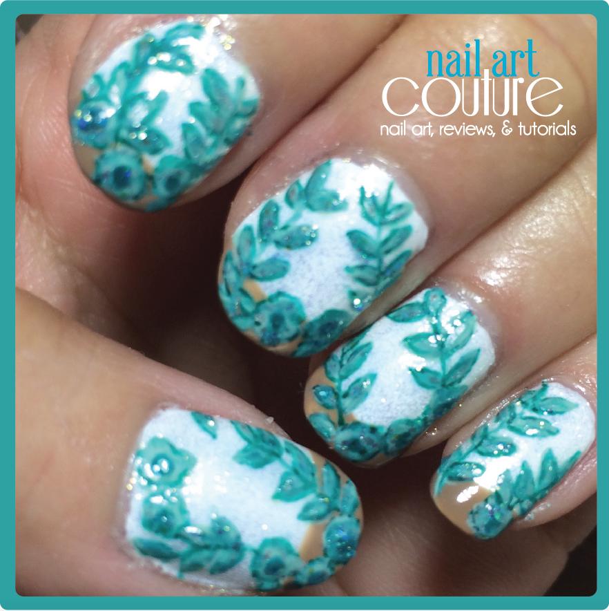 Nail Art Couture Converse Nail Art: Nail Art Couture★ !: Blumarine Spring/Summer 15' Nail Art