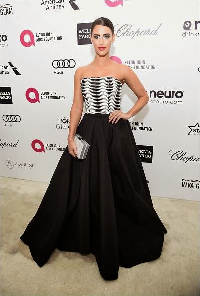 Jessica Lowndes at Academy Awards Viewing Party