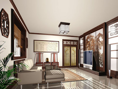 Home Design Modern Mandarin Oriental Chinese Feng Shui